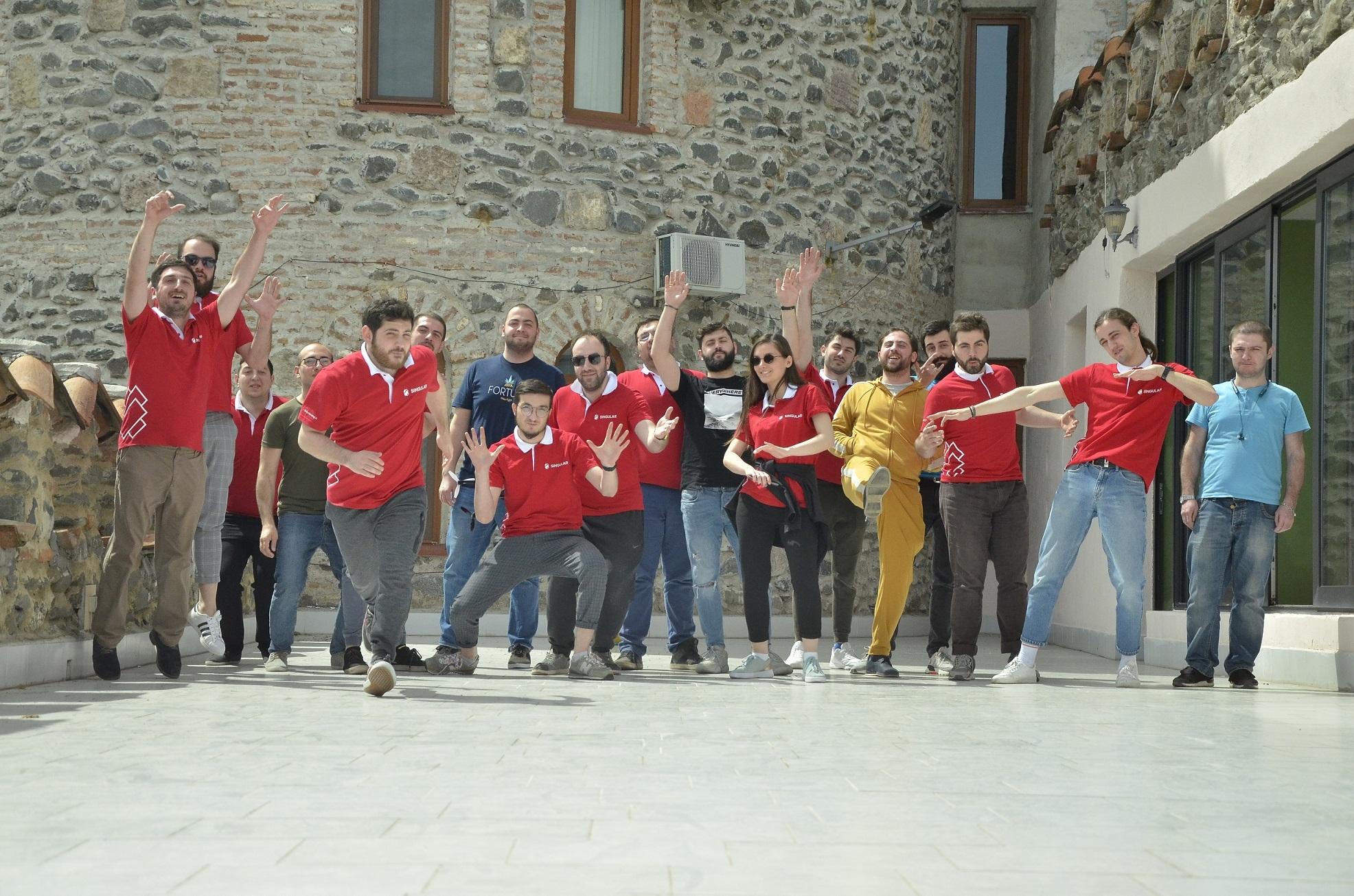 Singular GE team building