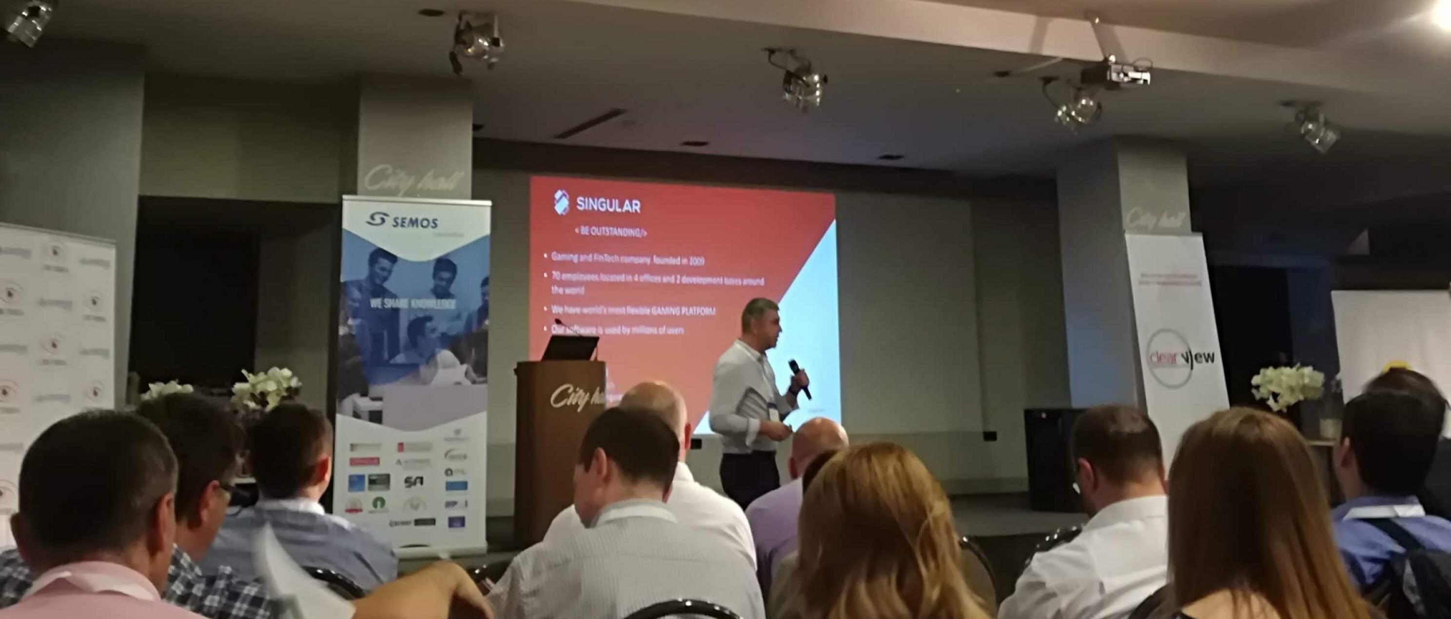 Singular at IT conference
